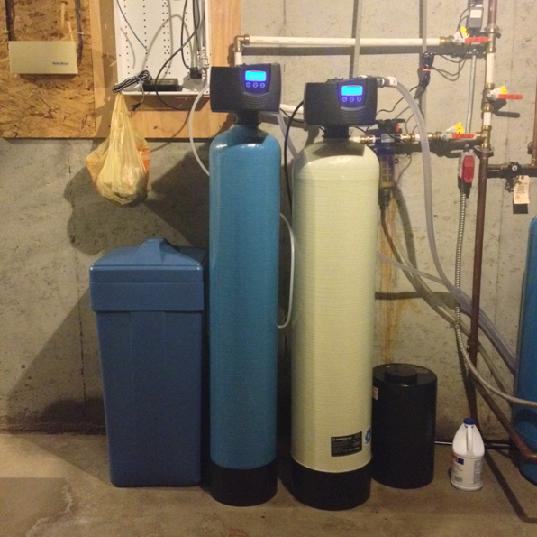 New Connections for Iron Filter and Softener