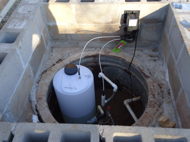Using A Chlorinator With A Storage Tank Clean Water