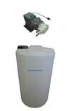 Stenner metering pump and solution tank