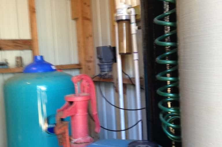Extremely Easy Solo Installation of Greensand iron filter system
