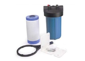 Filter cartridges are the least expensive method of chlorine removal