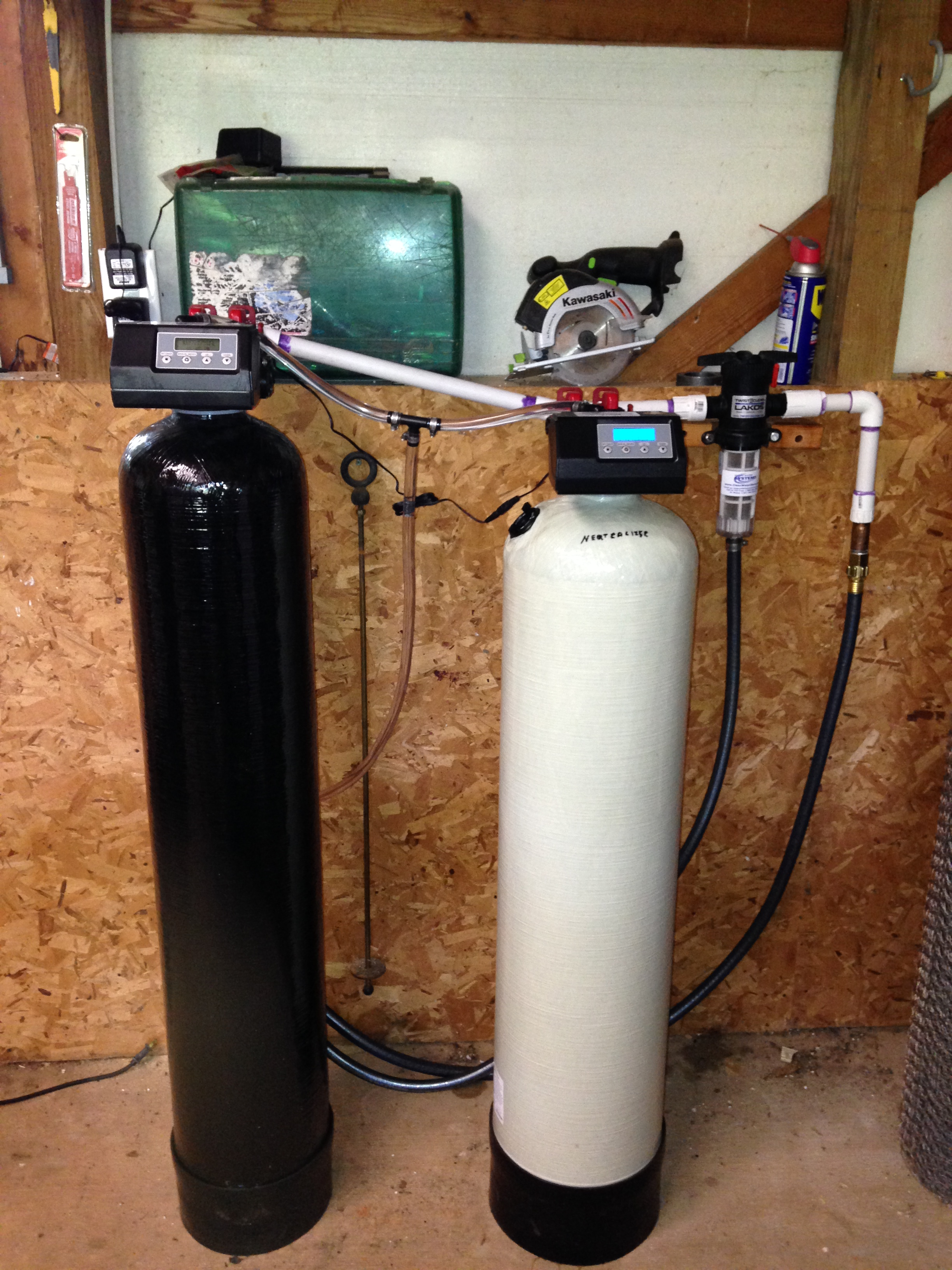 """We are very happy with the system and the water it provides. Very easy install."""