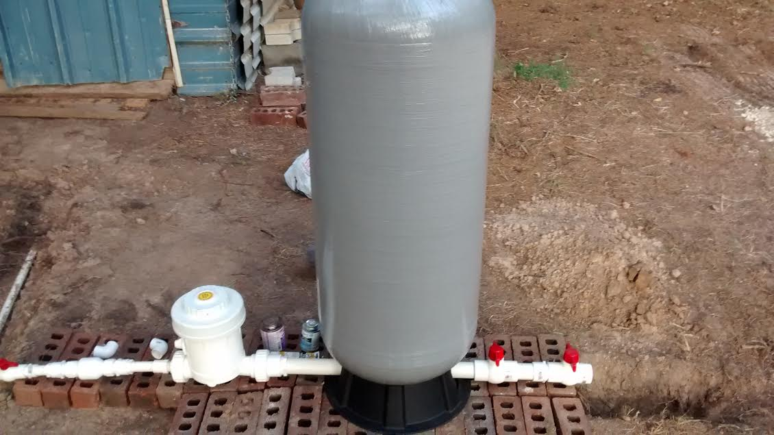 Water Filtration System: Very Simple to Set Up