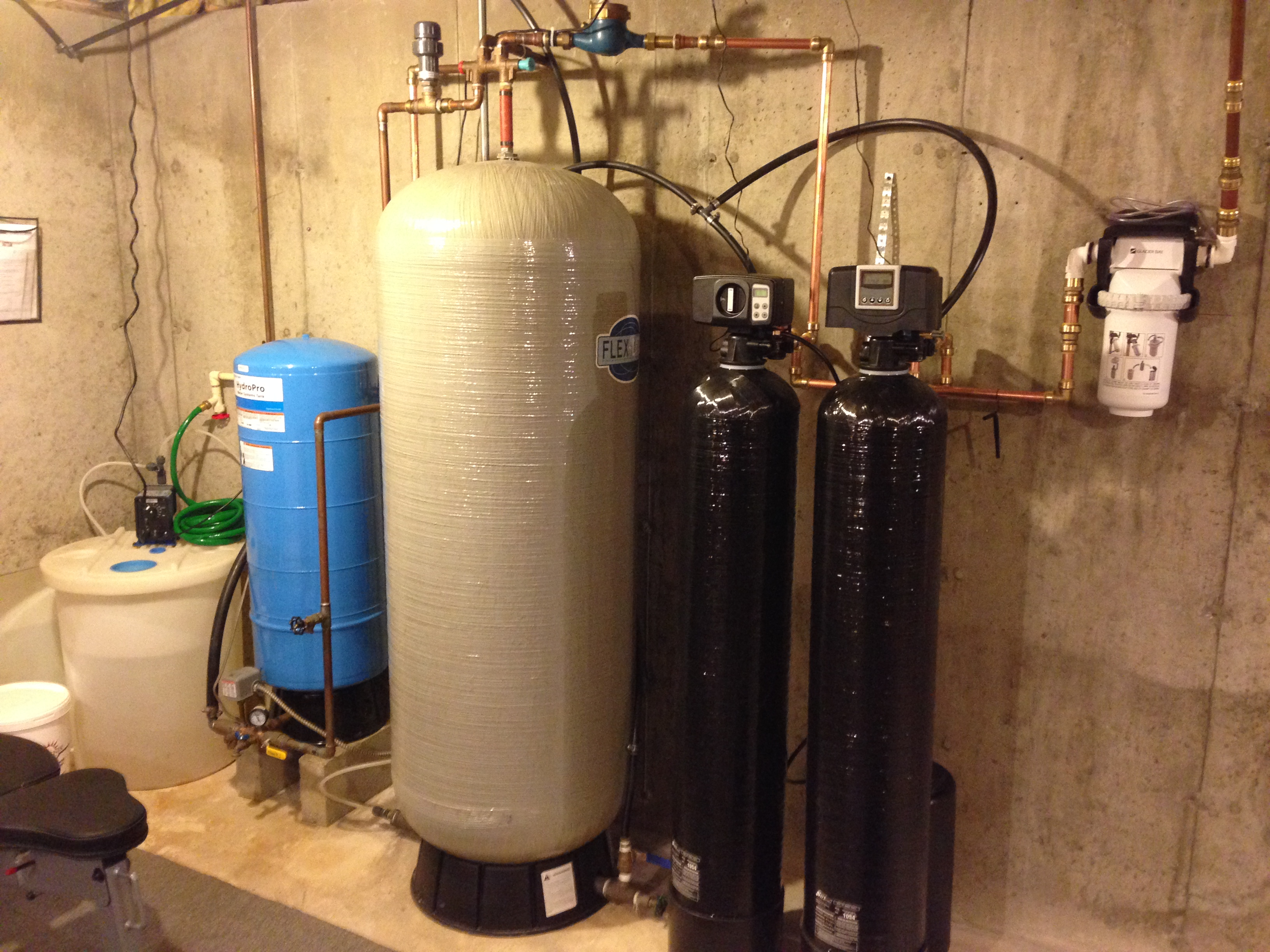 Upgrading a System with the Greensand Iron Filter