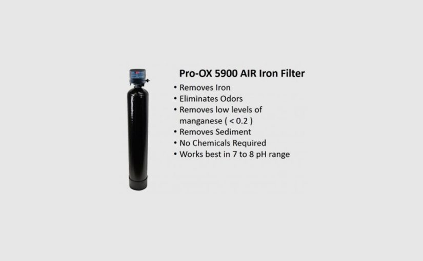How to Remove Iron and Neutralize Acid Water with Pro-OX-AIR Blend Filters
